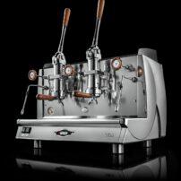 Kaffeemaschine Vela Vintage 2gr. mit hebel Wega