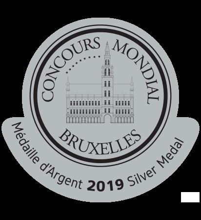Le Concours Mondial de Bruxelles-silver-medal